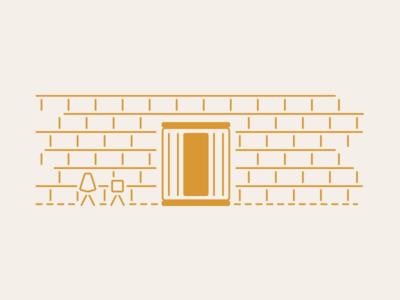 Almost Heaven Saunas: Indoor Sauna Illustration saunas illustration web design