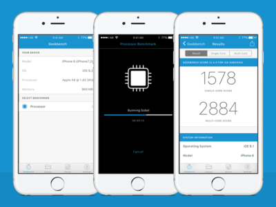 Geekbench 4 for iPhone ios app
