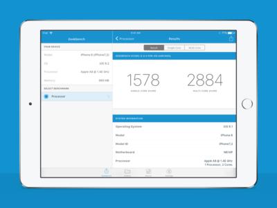 Geekbench 4 for iPad ios app