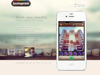 Instagram Website Redesign