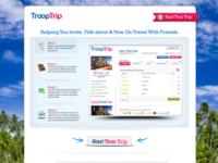 TroopTrip Homepage