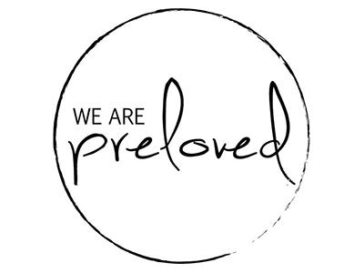 We are Preloved - Logo logo design we are preloved simple