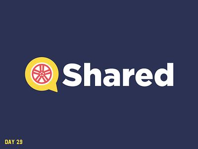 Daily Logo Challenge 29/50 lyft uber rideshare share ride daily logo daily challenge dailylogochallenge daily logo design