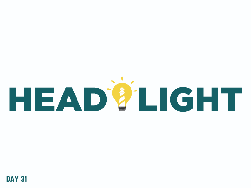Daily Logo Challenge 31/50 lighthouse simple letter logo daily logo daily challenge dailylogochallenge daily logo design
