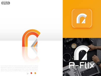 A letter-Modern logo logo eye catching minimalist logo abstract logo brand identity branding a logo letter logo logo design letter logos branding design 3d modern logo a letter