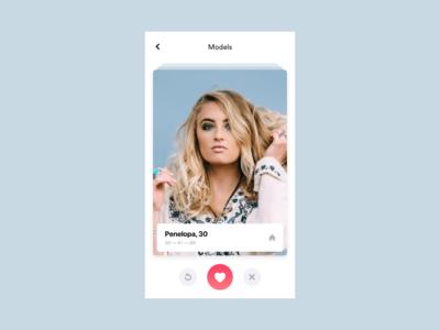 Model — Swiping mode