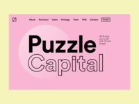 Puzzle Capital — Website Design