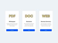 Jincor — Website Documents Design
