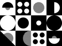 Mono-Colored Graphic Experiment