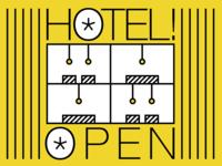 Hotel is open