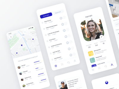 Paqet Prototype paqet bothrs figma dashboard list minimalism delivery product design prototype startup design sprint ux user interface user experience ui mobile design application app