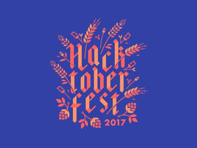 Hactoberfest 2017 open source t-shirt wheat october pull request hack