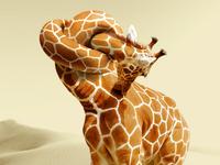 Giraffe Neck Knot concept
