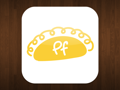 Pasty Finder – App icon idea #01 pasty finder icon app iphone ipad design