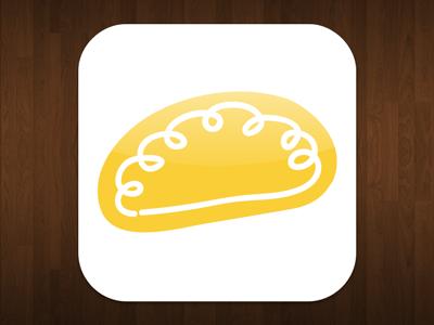 Pasty Finder – App icon idea #02