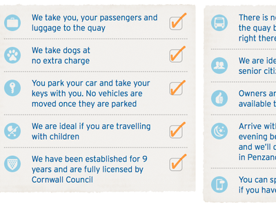 Scilly Parking – Website Close Up #1