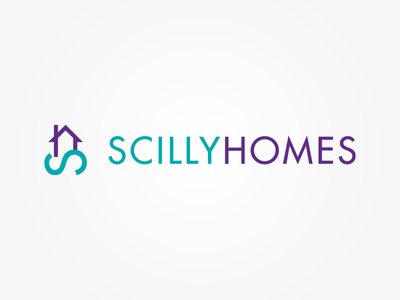 Scilly Homes – Logo Design isles of scilly agents estate homes property branding identity design logo