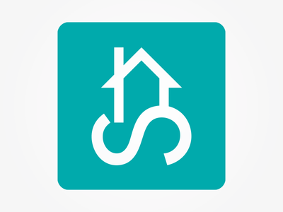 Scilly Homes – Logo Icon/Monogram isles of scilly agents estate homes property icon branding identity design logo