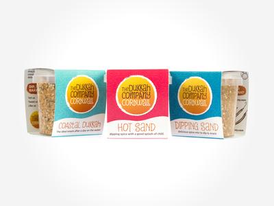 The Dukkah Company – Product Packaging Shot #1 cornwall food dukkah packaging branding identity design logo