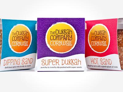 The Dukkah Company – Product Packaging Shot #2 cornwall food dukkah packaging branding identity design logo