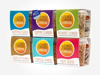 The Dukkah Company – Product Packaging Shot #3 cornwall food dukkah packaging branding identity design logo