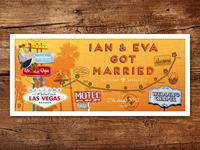 Ian & Eva Got Married – Print