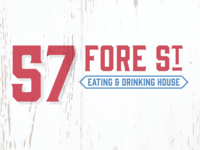 57 Fore St – Rejected Logo Concept #3