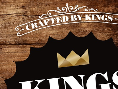 Kings Of The North Brewery – Logo Detail ale craft beer brewery branding identity logo