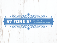 57 Fore St – Rejected Logo Concept #5
