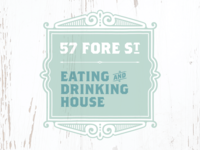 57 Fore St – Rejected Logo Concept #6