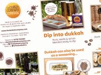 The Dukkah Company – Promotional Leaflet Detail #1