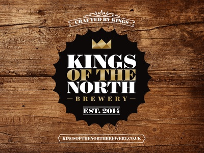 Kings Of The North Brewery – Logo ale craft beer brewery branding identity logo