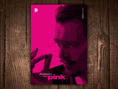 Steve Buscemi is Mr Pink Art Print print art quentin tarantino film movie resevoir dogs mr pink steve buscemi