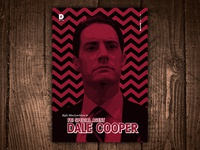 Kyle MacLachlan is FBI Special Agent Dale Cooper Art Print