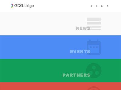 Google Developers Group - Liège ui google developers group gdg google material design