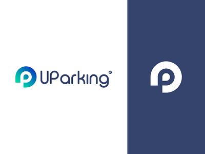 Uparking logo design illustrator branding logo graphic design design