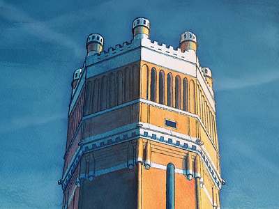Water tower - Close up