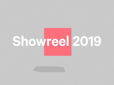 Showreel 2019 - Intro intro everythingisawesome 2019 framebyframe re design animation release showreel