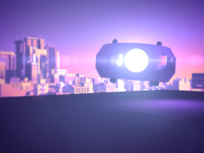 Drone reboot and take off! drones start society skyline take off purple drone