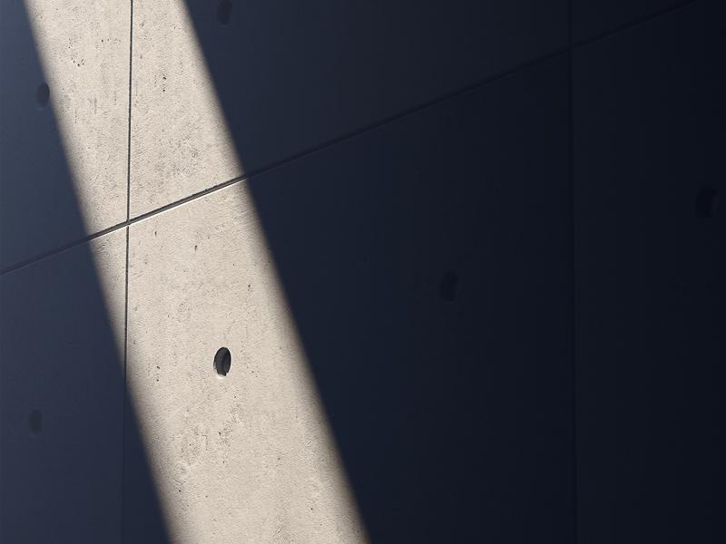 Lux Sit I artwork print minimalistic 3d shadow light lightshadow concrete architecture brutalism