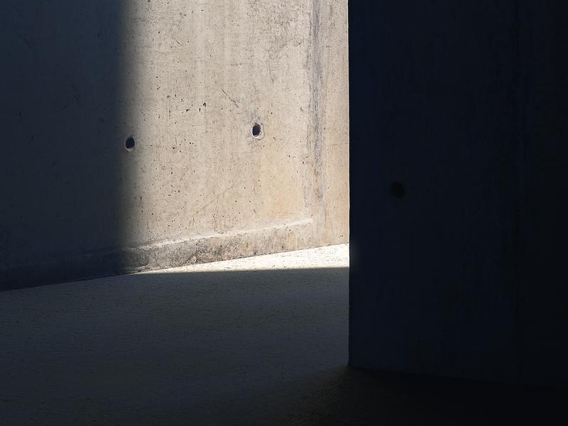 Lux Sit II print minimalistic shadow light concrete brutalism artwork architecture 3d