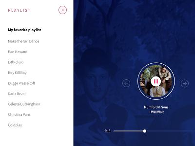 Grooveshark concept - update player grooveshark user interface czech prague design ui ux