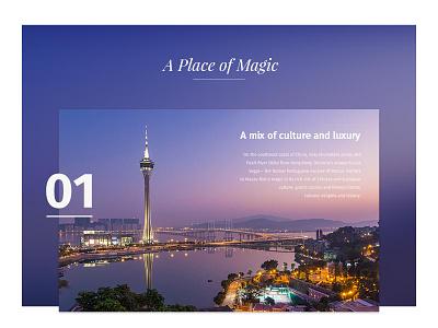 A Place of Magic city closeup art direction ux prague czech czechdesigner preciosa web design user interface ui