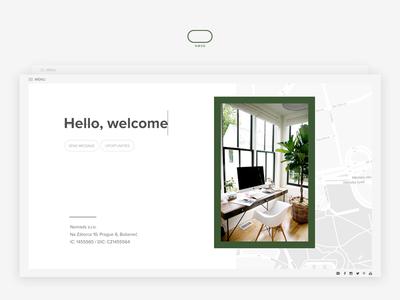 UI concept designer czech ux ui design web profile board