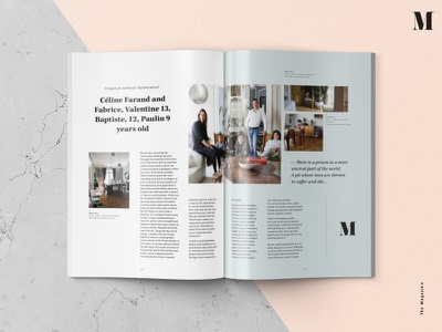 The Magazine - Design concept designmag editorial graphicdesign interface design magazine typography layout