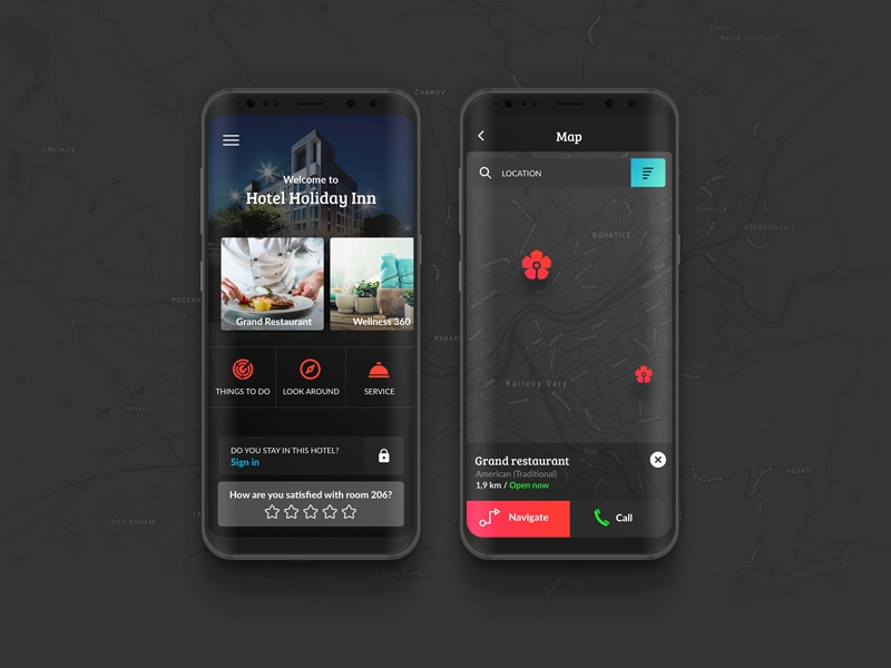 MyStay app interfacedesign ux ui s8 samsungs8 design app