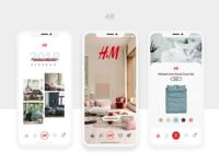 H&M Home App Concept
