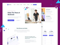 Sleeknote - Landing Page
