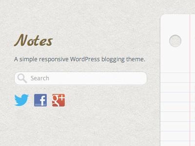 A blog theme blog texture paper
