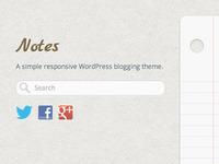 A blog theme